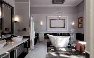 Идеи освещения ванной комнаты