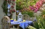 Усадьба цветы в саду