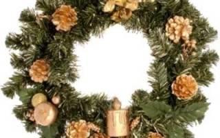 Как купить новогодний рождественский венок на алиэкспресс