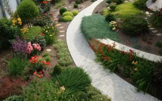 Рокарий своими руками эффектный каменный сад посреди лужайки